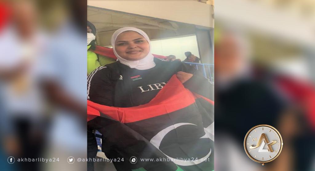 بطلة ألعاب القوى الليبية رتاج السايح