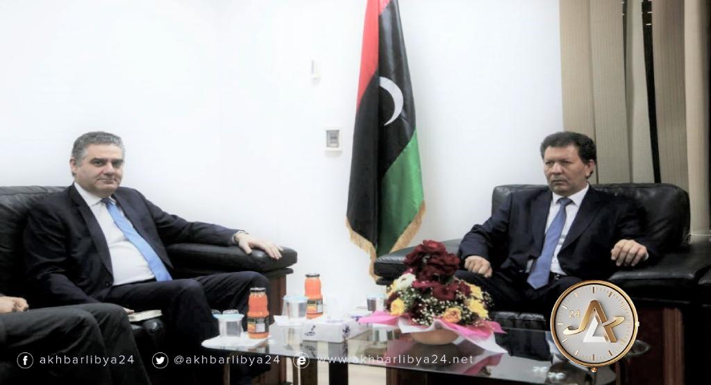 ليبيا-وكيل وزارة الخارجية يلتقي القائم بالأعمال اليوناني