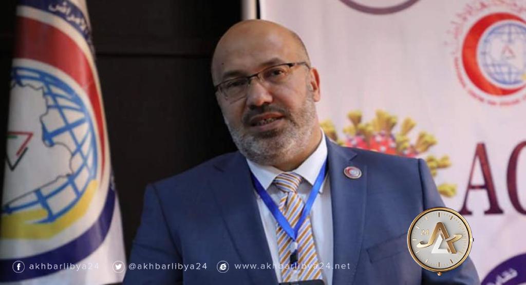 ليبيا-مدير عام المركز الوطني لمكافحة الأمراض الدكتور بدر الدين النجار