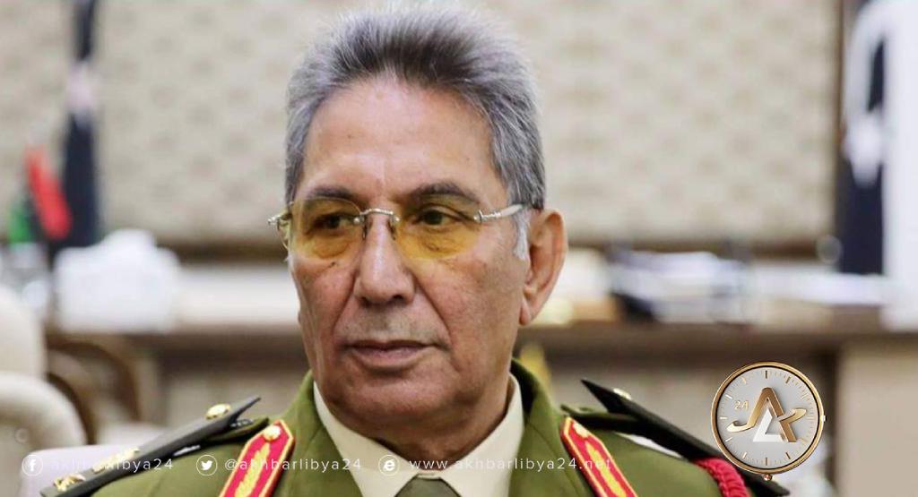 ليبيا- رئيس وفد القيادة العامة في اللجنة العسكرية المشتركة اللواء أمراجع العمامي