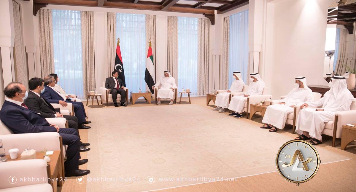 أبوظبي- رئيس المجلس الرئاسي الليبي يزور الإمارات