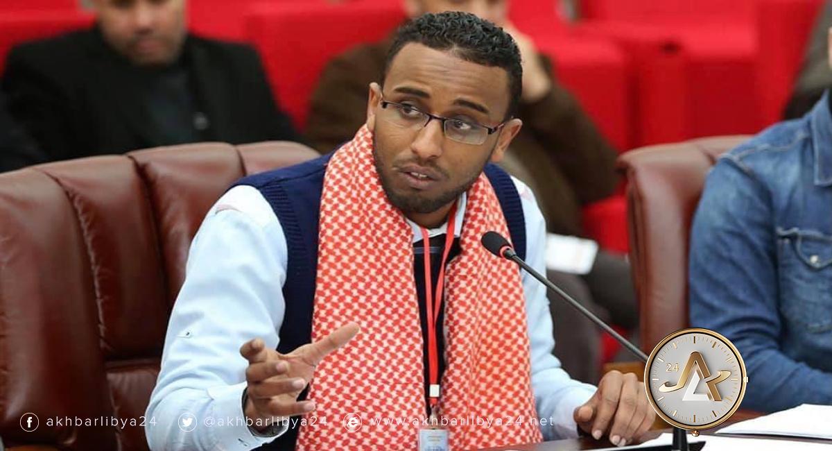 ليبيا- مدير فرع الهلال الأحمر الليبي في إجدابيا والناشط المدني منصور عاطي
