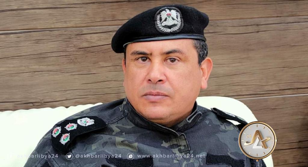 مدير أمن طبرق عميد خالد البسطة