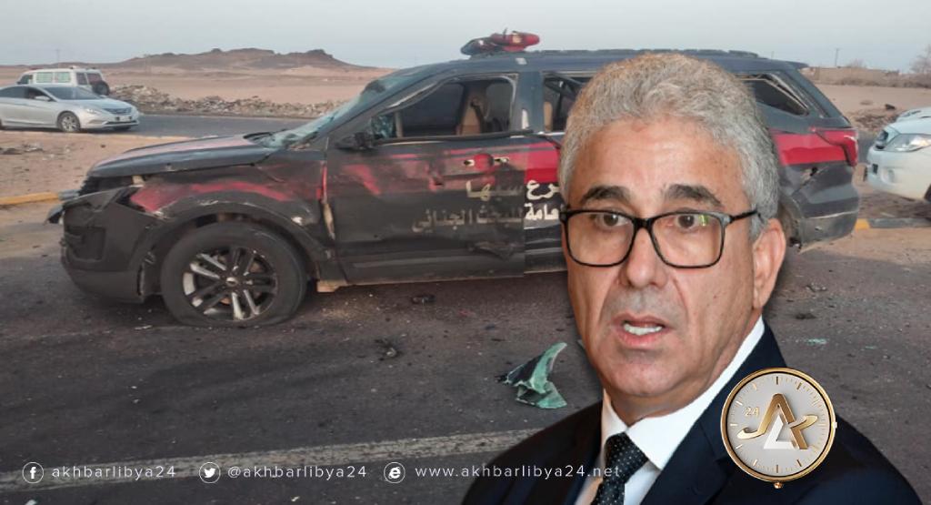 ليبيا-وزير الداخلية بحكومة الوفاق فتحي باشاغا