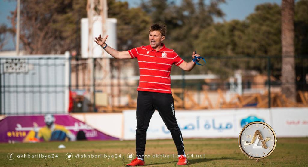 ليبيا- الصربي ديجان أرسوڤ مدرب الأهلي بنغازي
