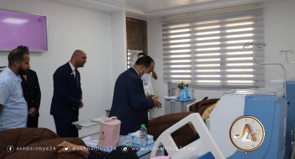 افتتاح مركز لغسيل الكلى في بنغازي