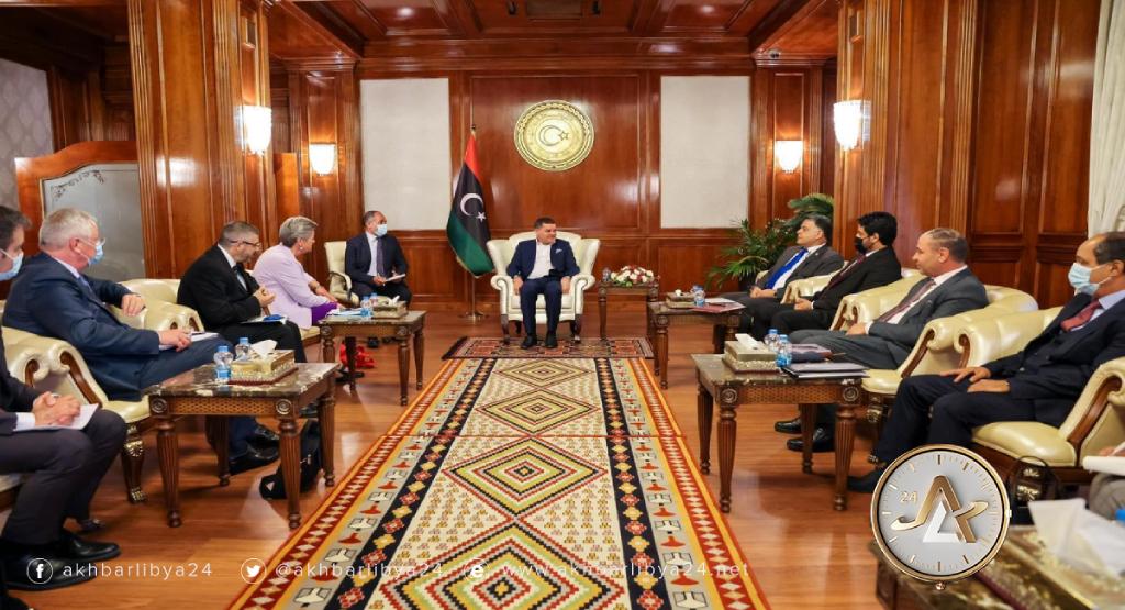 ليبيا-رئيس الحكومة يجتمع مع مفوضة الاتحاد الأوروبي للشؤون الداخلية