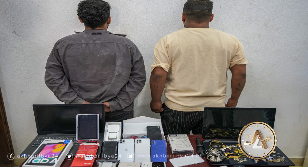 بنغازي: القبض على مجرمين