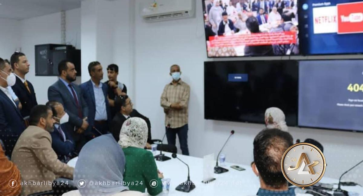ليبيا- تدشين غرفة طواري تابعة للصحة في بنغازي