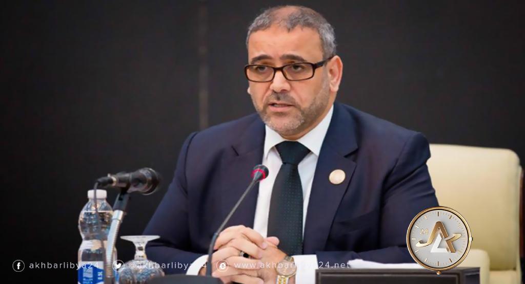ليبيا- رئيس المجلس الأعلى للدولة خالد المشري