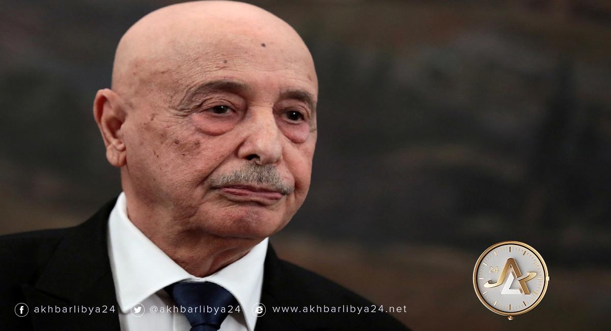 ليبيا- رئيس مجلس النواب