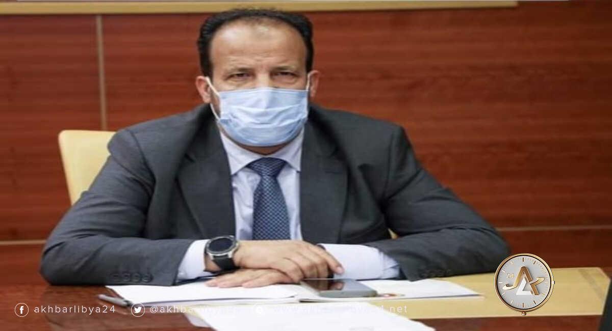 وزير الصحة علي الزناتي