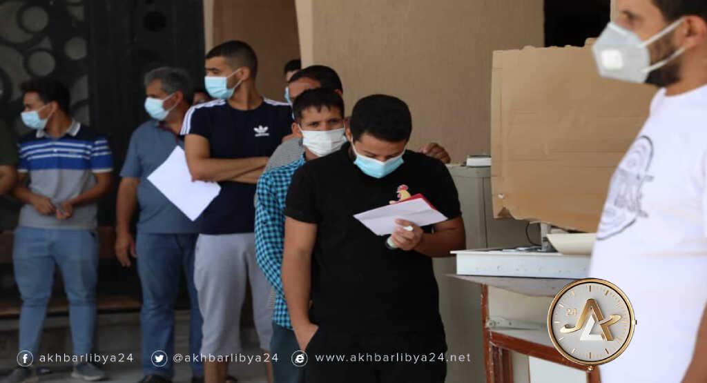 ليبيا-حملة التطعيمات الاستثنائية ضد فيروس كورونا