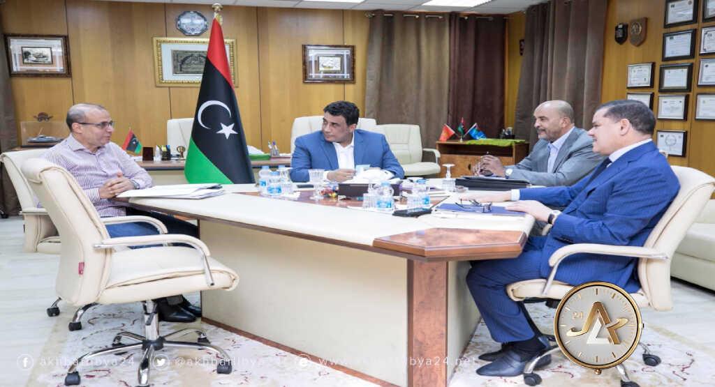 ليبيا- المجلس الرئاسي يجتمع برئيس الحكومة