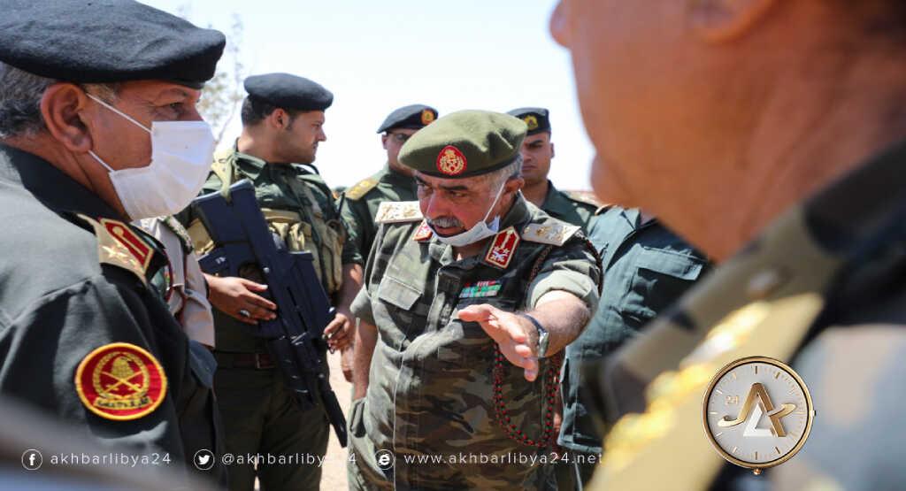 ليبيا- استمرار جولات اللجنة العسكرية بالجنوب
