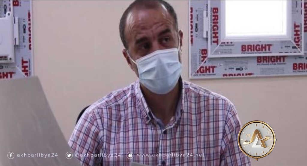 """ليبيا- زيارة الأستاذ الدكتور زياد لنقي إلى مستشفى المرج التعليمي ضمن مبادرة """"جسر"""""""