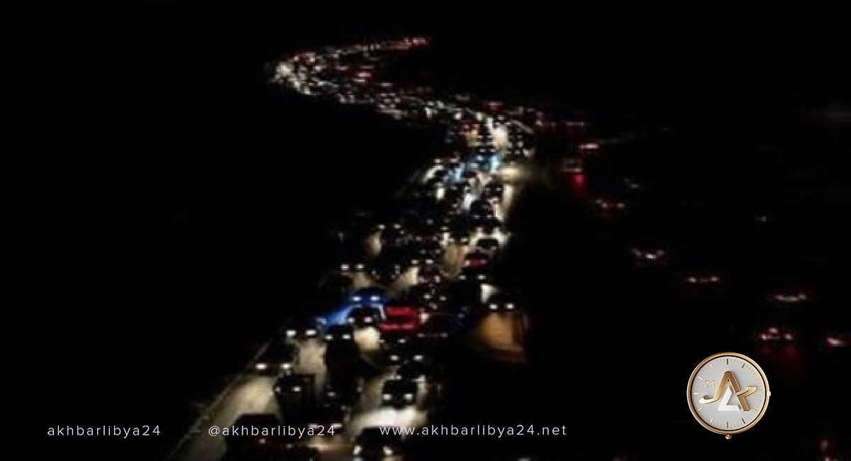 انقطاع الكهرباء- ليبيا