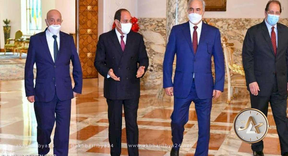 حفتر - صالح - السيسي
