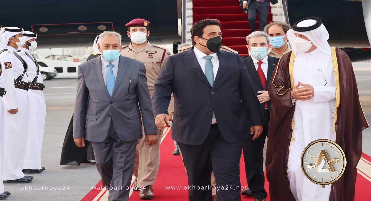 المنفي في قطر