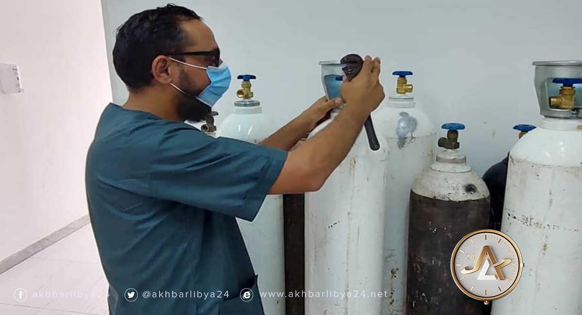 ليبيا- نقص الأكسجين بمركز العزل في سرت