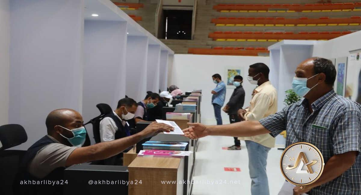 بنغازي- مجمع تطعيم المدينة العام