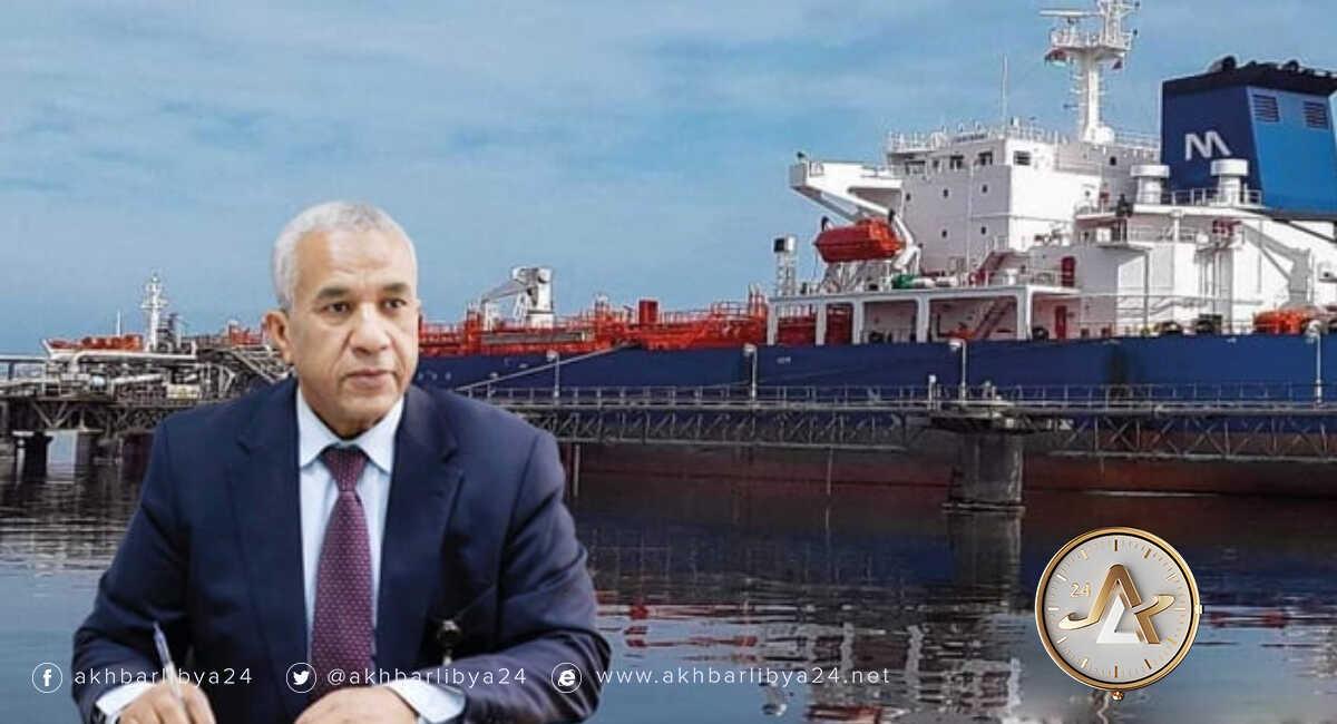 رئيس لجنة إدارة شركة البريقة لتسويق النفط، إبراهيم أبو بريدعة