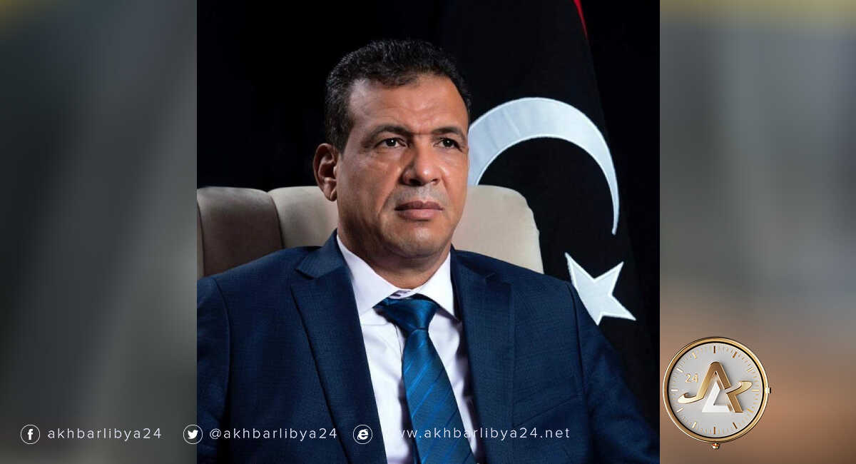ليبيا-نائب رئيس حكومة الوحدة، رمضان أبوجناح